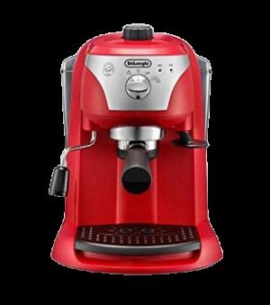 DeLonghi EC221 Coffee Machine is the best DeLonghi coffee machine to prepare coffee and espresso